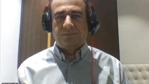 آقای یوسفیه - مدیر و موسس مجموعه آموزشی گویش