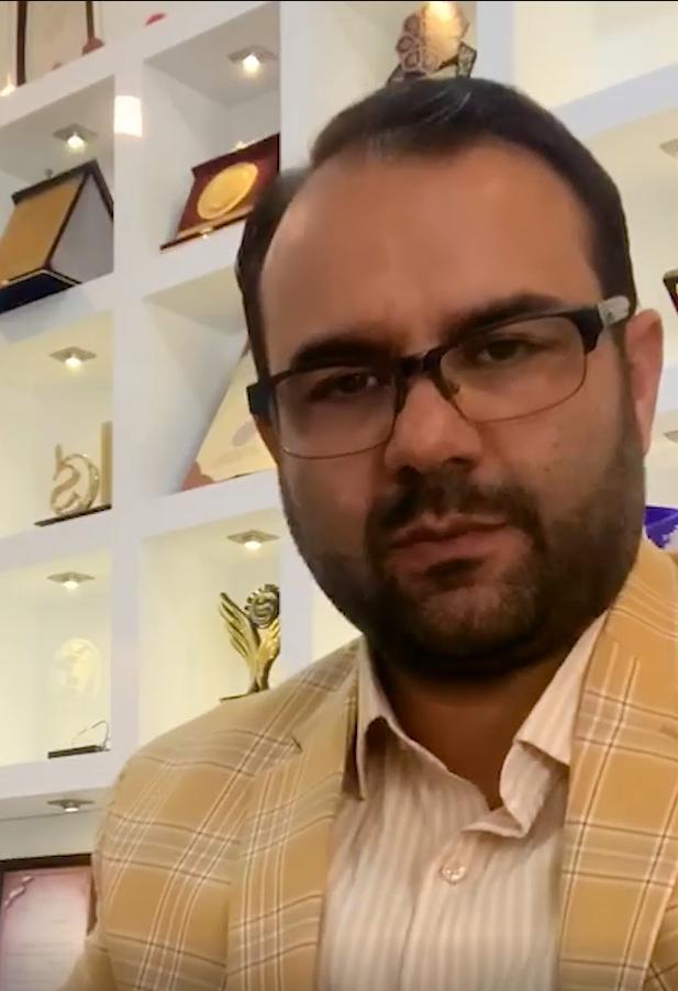 آقای بلدی -  مدیر موسسه زبان و خانه آیلتس نخبگان