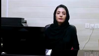 خانم علی اکبری مدیر آموزشگاه زبان گویش آران وبیدگل